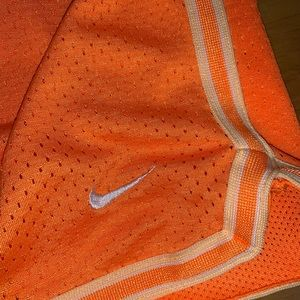 Nike Bottoms - Nike girls shorts size M orange